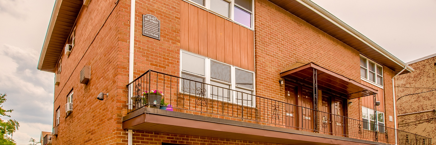 69th Street Apartments For Rent in Guttenberg, NJ Building View