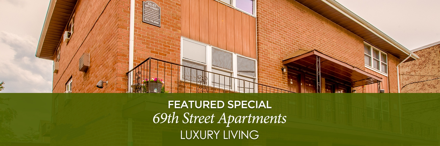 69th Street Apartments For Rent in Guttenberg, NJ Featured Specials